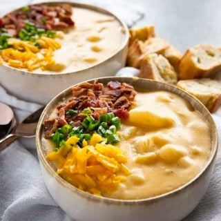 crockpot potato soup