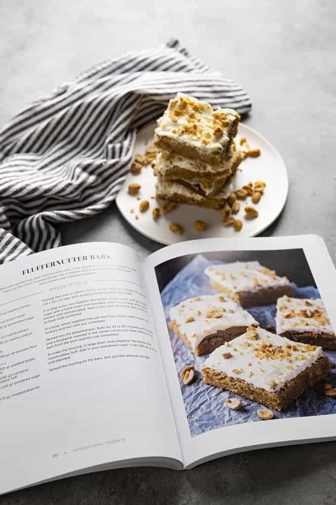 cookbook how to make fluffernutter bars
