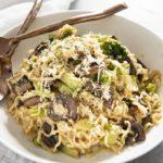 ramen noodles with garlic parmesan sauce