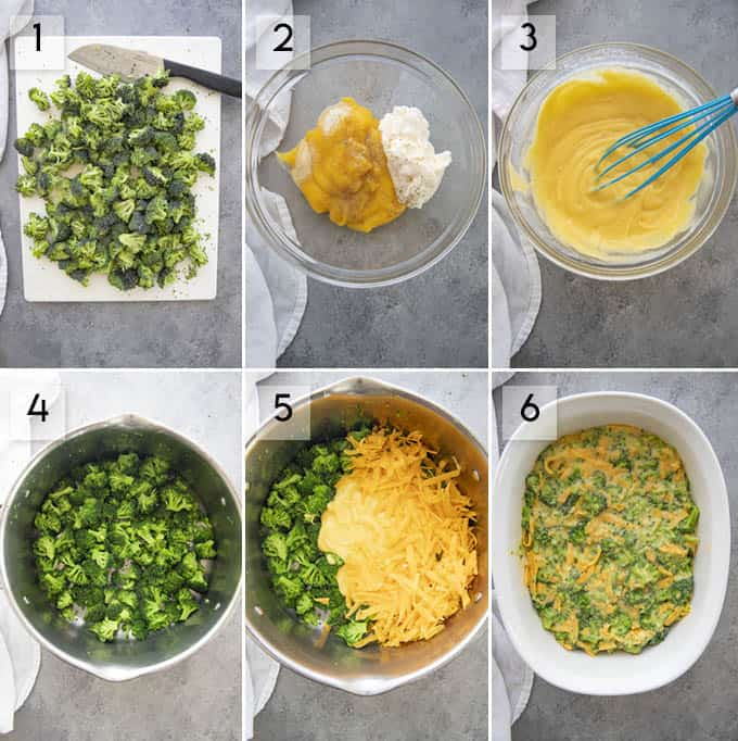 how to make broccoli casserole