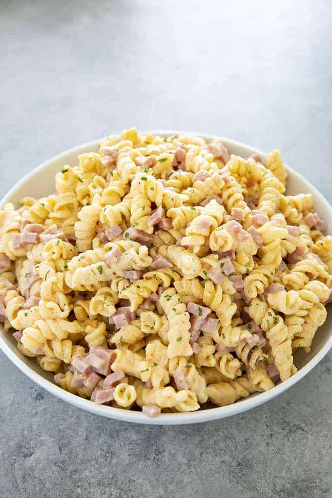 Ham & Cheese Instant Pot Pasta