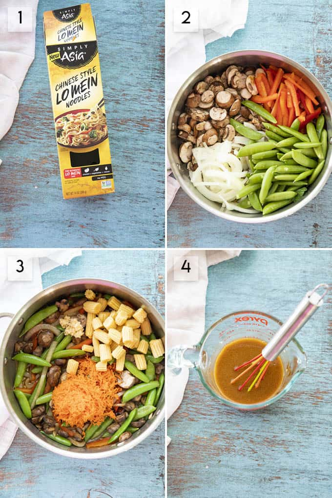 photo collage how to make lo mein