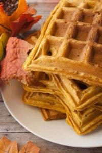 Hero 3 for pumpkin waffles.