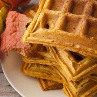 Hero 3 for pumpkin waffles.