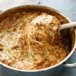 one pot spaghetti pie