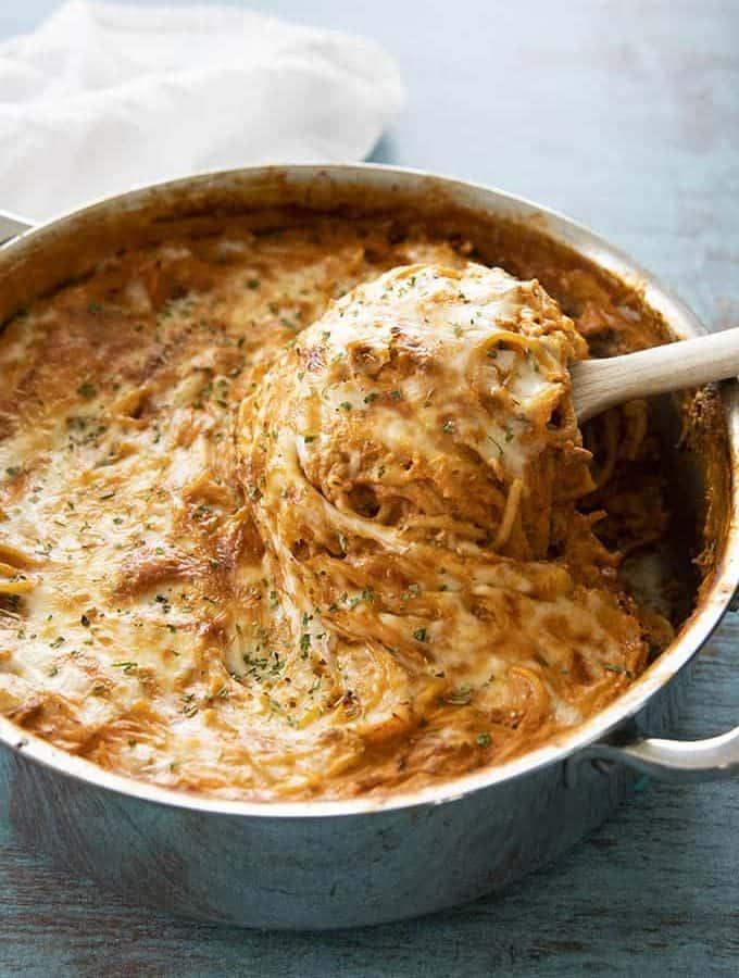 one pot spaghetti pie