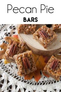 Pecan Pie Bars pin
