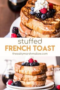 Pinterest photo collage french toast