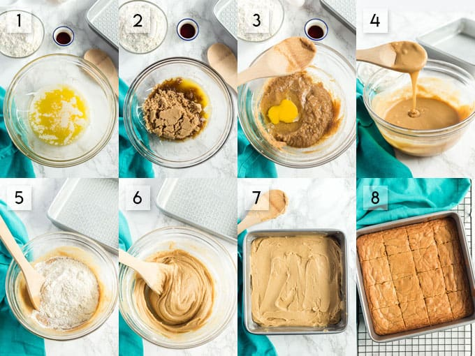 how to make blondies