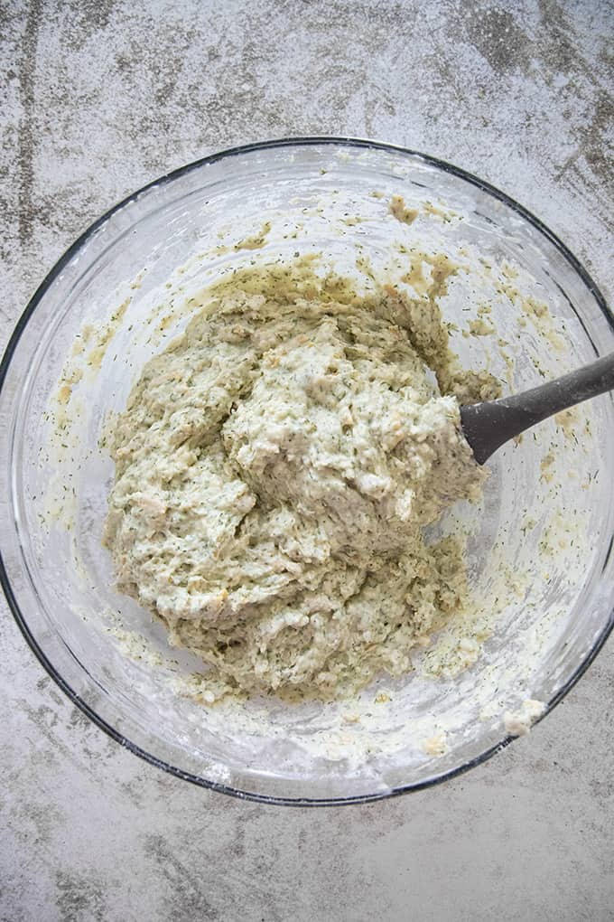 batter for dill bread