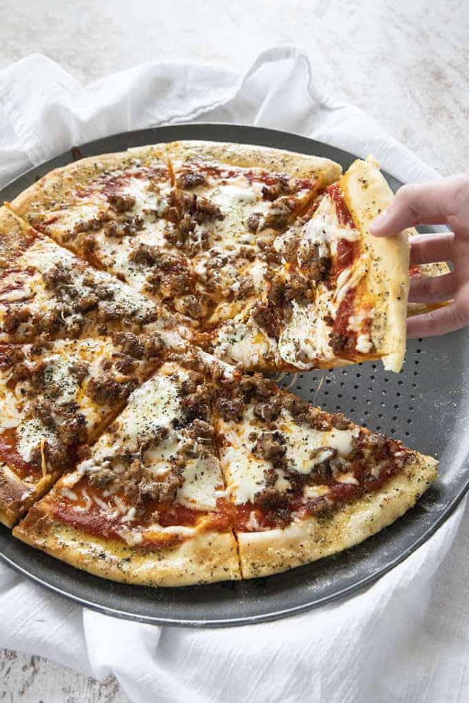 lasagna pizza