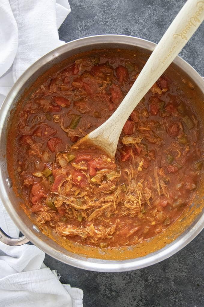 bbq spaghetti sauce