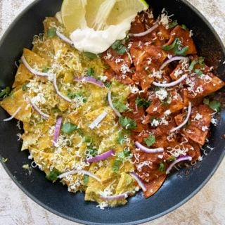 pan of chilaquiles