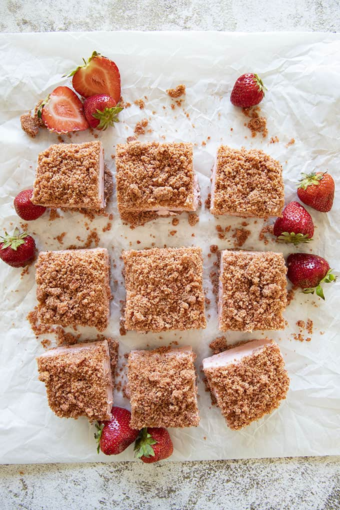 recipe for strawberry cheesecake bars
