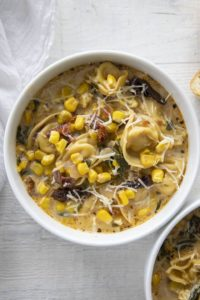 corn tortellini chowder