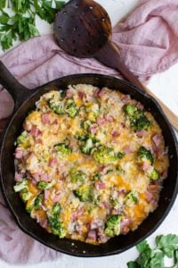 ham and rice casserole