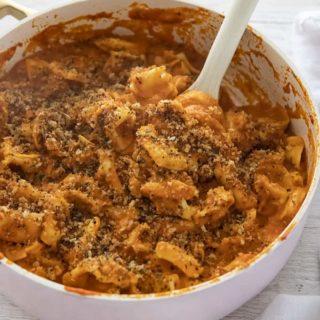 Tortellini crémeux aux tomates