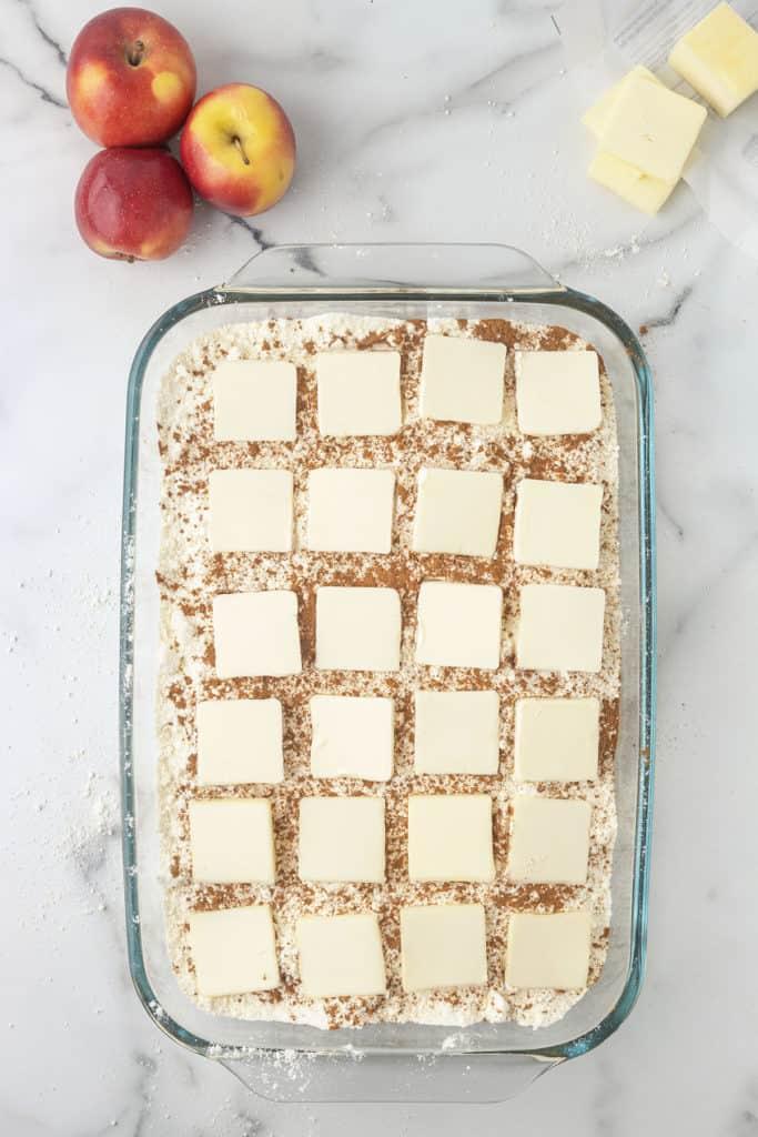 how to make apple dump cake